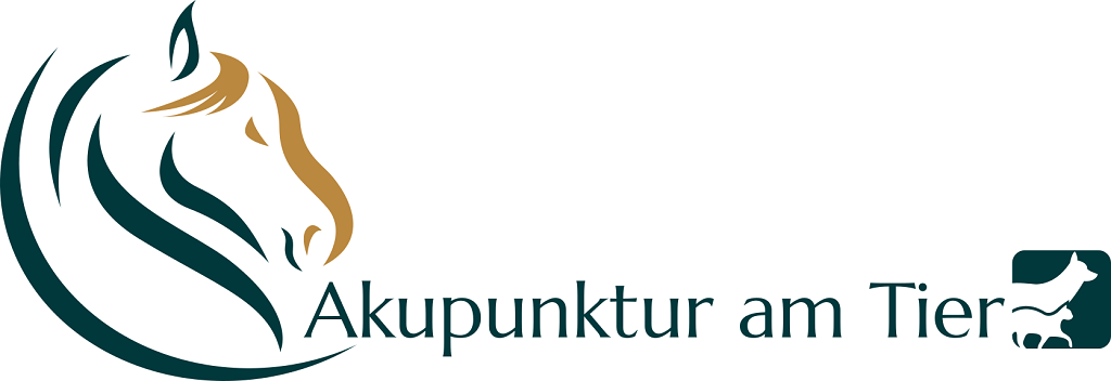 Akupunktur am Tier Logo